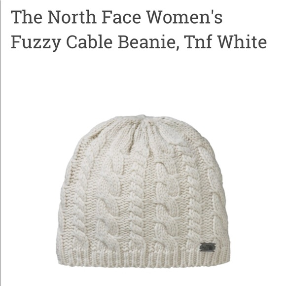 North Face Women s Fuzzy Cable Beanie. M 5add3e542ab8c588e3883622 57366001bc8